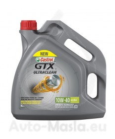 CASTROL GTX ULTRACLEAN 10W40 4L