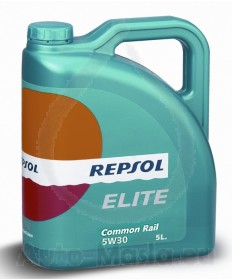REPSOL ELITE COMMON RAIL 5W30 - 5L