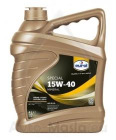 Минерално моторно масло Eurol Special 15W40- 4l