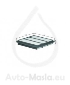 Въздушен филтър KNECHT LX 989