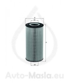 Маслен филтър KNECHT OX 123/1D