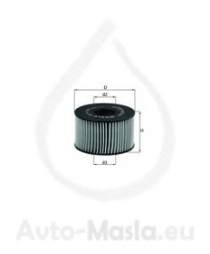 Маслен филтър KNECHT OX 191D