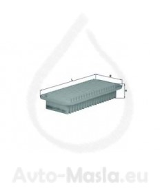 Въздушен филтър KNECHT LX 1001