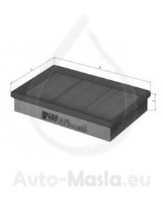 Въздушен филтър KNECHT LX 1053