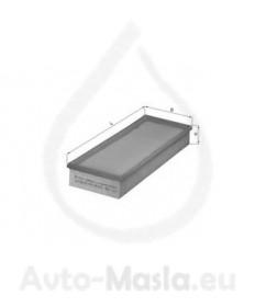 Въздушен филтър KNECHT LX 106