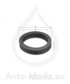 Въздушен филтър KNECHT LX 108