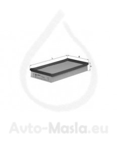 Въздушен филтър KNECHT LX 1080