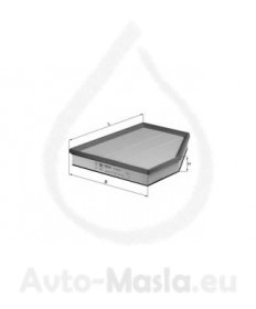 Въздушен филтър KNECHT LX 1261