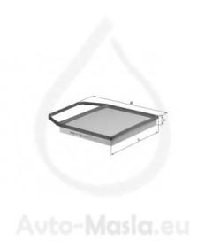 Въздушен филтър KNECHT LX 1564