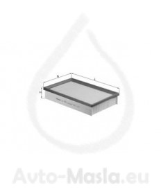 Въздушен филтър KNECHT LX 1571