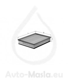 Въздушен филтър KNECHT LX 1602
