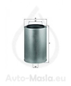 Въздушен филтър KNECHT LX 1606