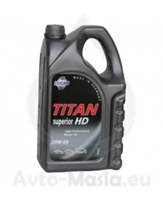 TITAN SUPERIOR HD 20W50- 5L