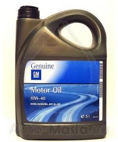 двигателно масло GM 10W40 5L