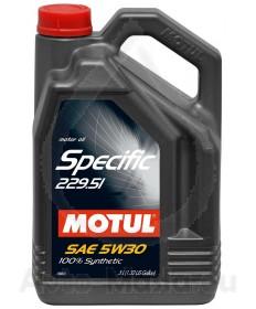 MOTUL SPECIFIC 229.51 5W30- 5L
