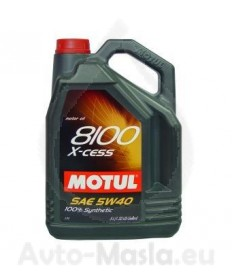 MOTUL 8100 X-CESS 5W40- 5L