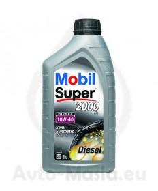 MOBIL SUPER 2000 X1 DIESEL 10W40- 1L