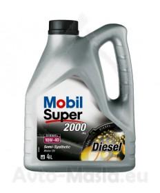 MOBIL SUPER 2000 X1 DIESEL 10W40- 4L
