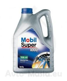 MOBIL SUPER 1000 X1 15W40- 5 ЛИТРА