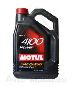 MOTUL 4100 POWER 15W50- 5L