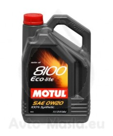 MOTUL 8100 ECO-Lite 0W20- 5L