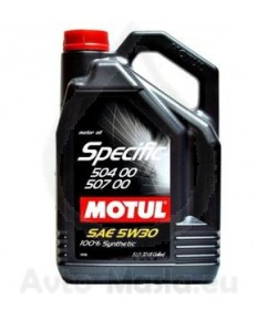 MOTUL SPECIFIC VW 504.00/507.00 5W30- 5L