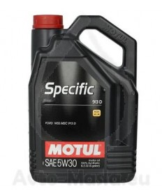 MOTUL SPECIFIC FORD 913D 5W30- 5L