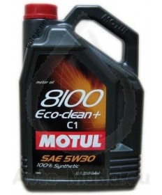 Моторно масло MOTUL 8100 ECO-Clean+ 5W30- 5L