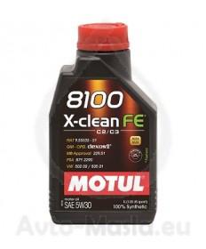 MOTUL 8100 X-CLEAN FE 5W30- 1L