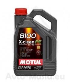 MOTUL 8100 X-CLEAN FE 5W30- 5L