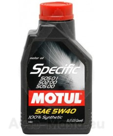 MOTUL SPECIFIC VW 505.01/505.00/502.00 5W40 1l