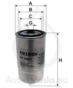 Горивен филтър FILTRON PP 968/1