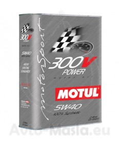 MOTUL 300V Power 5W40- 2L