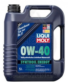 LIQUI MOLY SYNTHOIL ENERGY OW40 - 5L