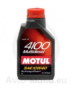 MOTUL 4100 MULTIDIESEL 10W40 1L