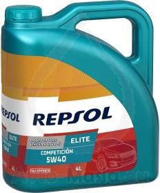 REPSOL ELITE COMPETICION  5W40 - 4L