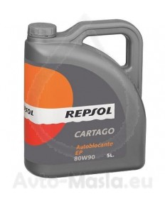 Repsol Cartago Autoblocante E.P. 80W90- 5L
