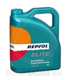 Repsol Elite Evolution Fuel Economy 5W30- 5L