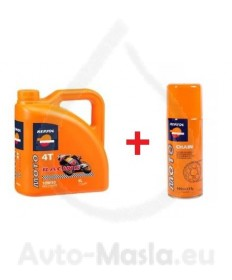 REPSOL MOTO RACING 4T 10W50 + Chain lube - 4L