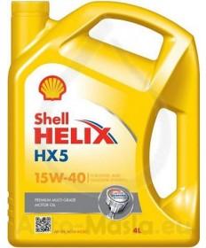 Shell Helix HX5 15W40- 4L