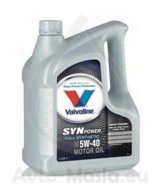 VALVOLINE SynPower 5W40- 4L