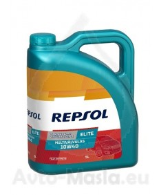 REPSOL ELITE MULTITECH 10W40 - 5 ЛИТРА