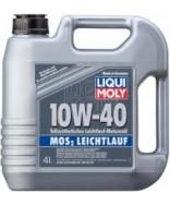 LIQUI MOLY MoS2 LEICHTLAUF 10W40- 4 ЛИТРА