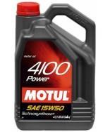 MOTUL 4100 POWER 15W50- 4 ЛИТРА