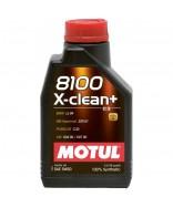 MOTUL 8100 X-CLEAN+ 5W30- 1 ЛИТЪР