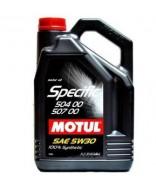 MOTUL SPECIFIC VW 504.00/507.00 5W30- 5 ЛИТРА