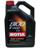MOTUL 8100 X-CLEAN C3 5W40- 5 ЛИТРА