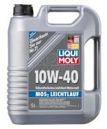 LIQUI MOLY MoS2 LEICHTLAUF 10W40- 5 ЛИТРА