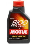 MOTUL 8100 ECO-Clean+ 5W30- 1 ЛИТЪР